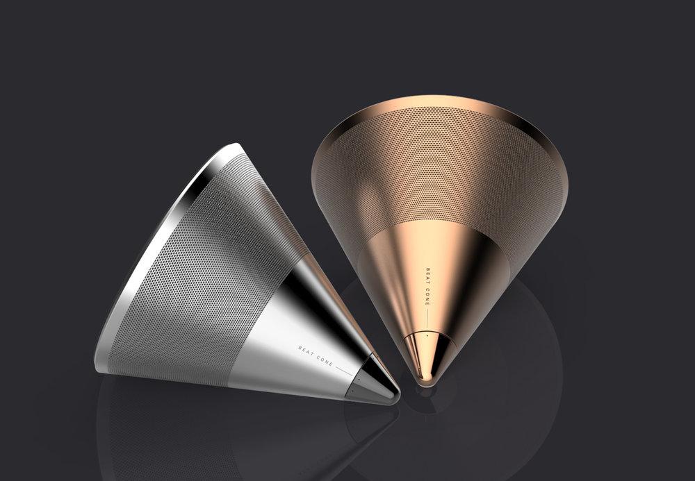 Beat Cone | Speaker Rendering