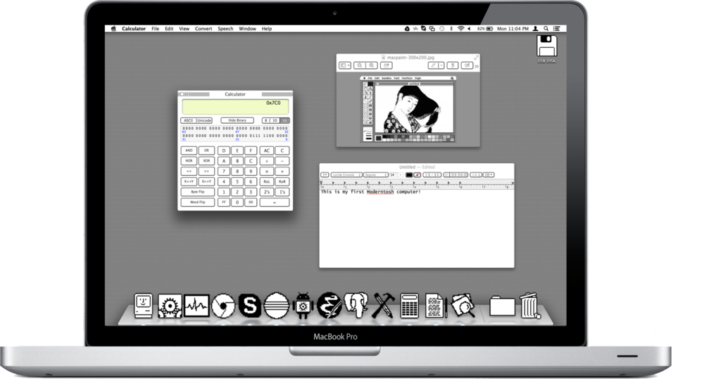 How To Give Your Mac Some Mid-80's Style — Daniel Ehrman