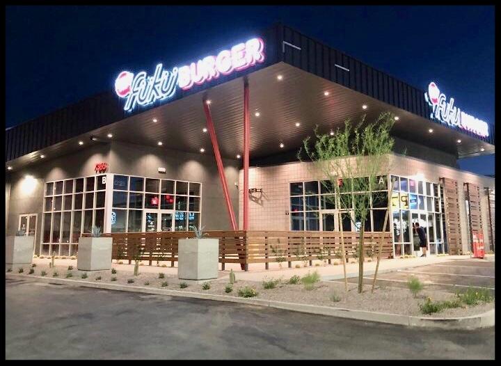 Fukuburger Buffalo - 7365 South Buffalo Drive, Las Vegas, NV 89113