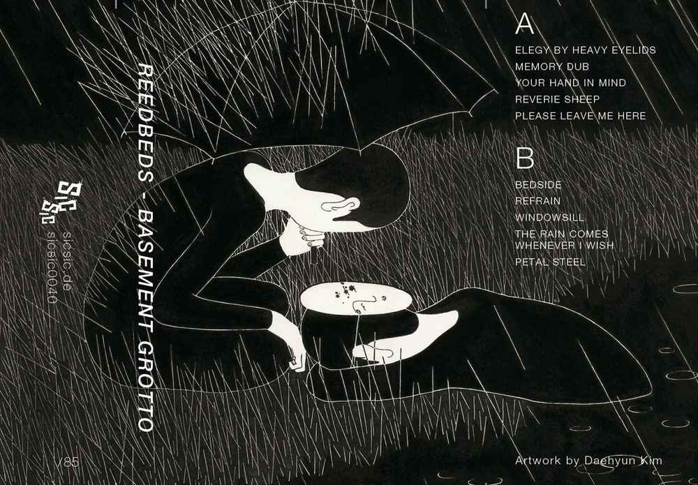 Design layout of Reedbed's Basement Grotto album
