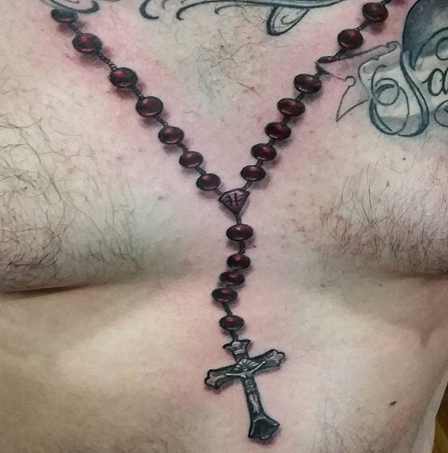 Closeup on a rosary i did the other day, thanx for lookin...thanxfor lookin n likin ..GET@ME4INK....#rosary#beautiful#catholic#religious#cross#realistic#tattoo#ink#tattoolife#inked#inkaddict#cooltattoos#chicagostatetattoo#chicagotattooartist#chicagotattooshop#art#bodyart#skinart#chicago#westtown#urkrainianvillage#humboldtpark#wickerpark#instagood#art#skinart#bodyart#love