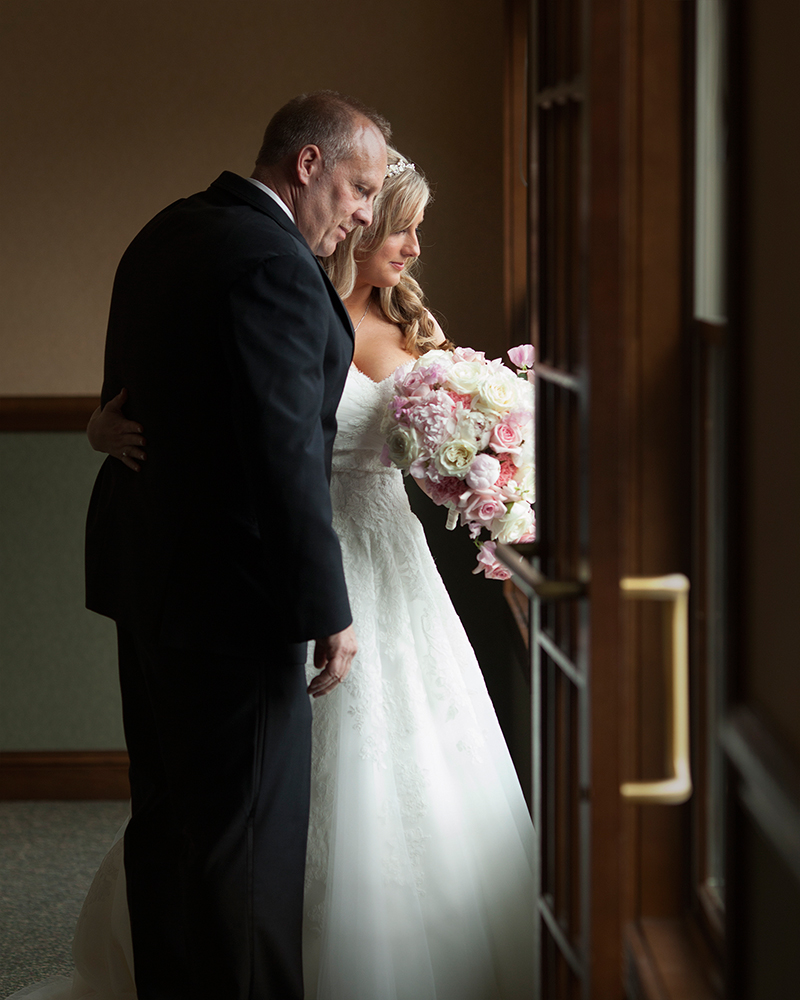 Bride Dad Looking Out Window Wedding Day South Bend Indiana Michigan Chicago - joannaFOTOGRAF Joanna Reichert.jpg