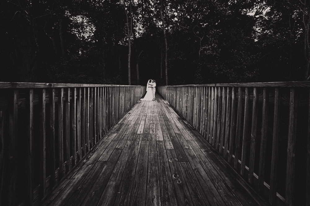 Bridal Portrait Outdoor Backlit Boardwalk Woods Forest - joannaFOTOGRAF Joanna Reichert.jpg