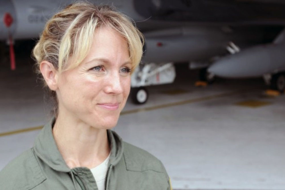 On 9/11 US fighter jets took off on a suicide mission. Meet the pilot willing to give her life…