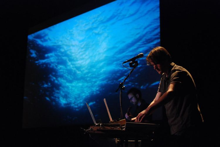 "Halsey Burgund performing ""Ocean Voices"" at the Museum of Science, Boston"