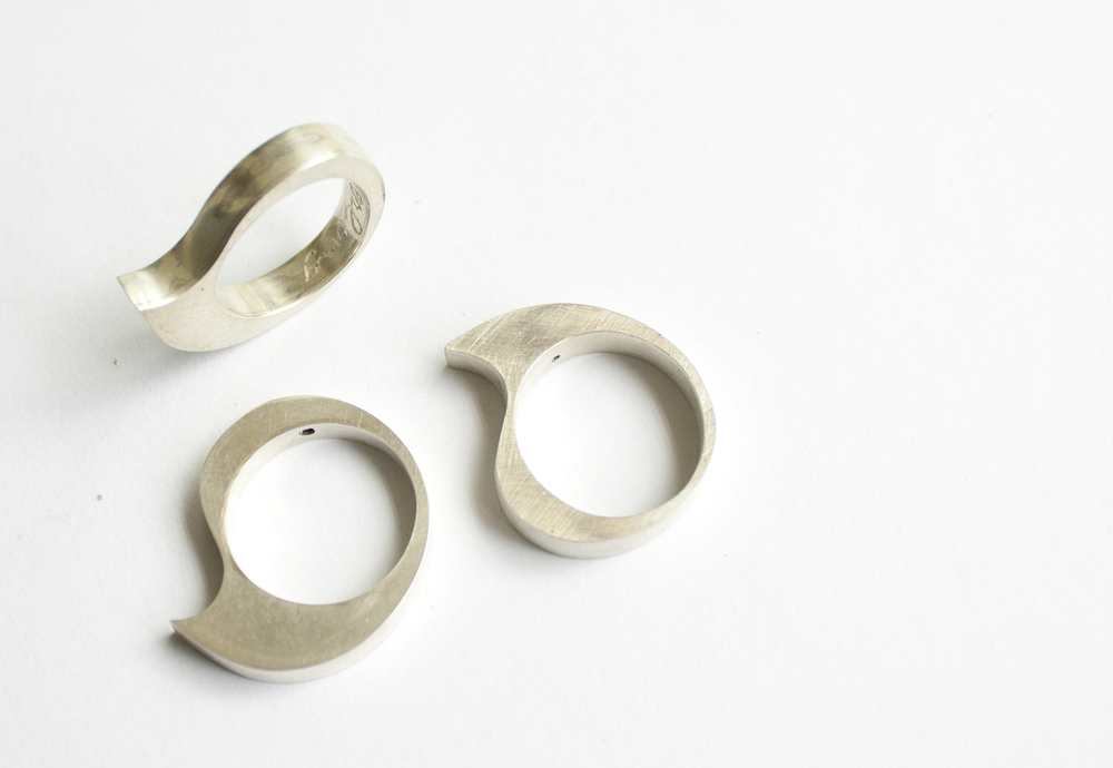 Tear Drip Rings $120
