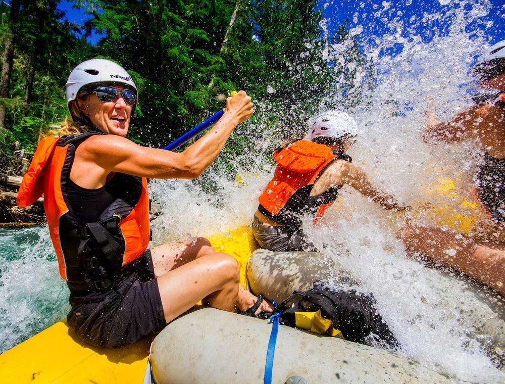 Whitewater Rafting in the Kootenay Rockies, Lardeau River Adventures.