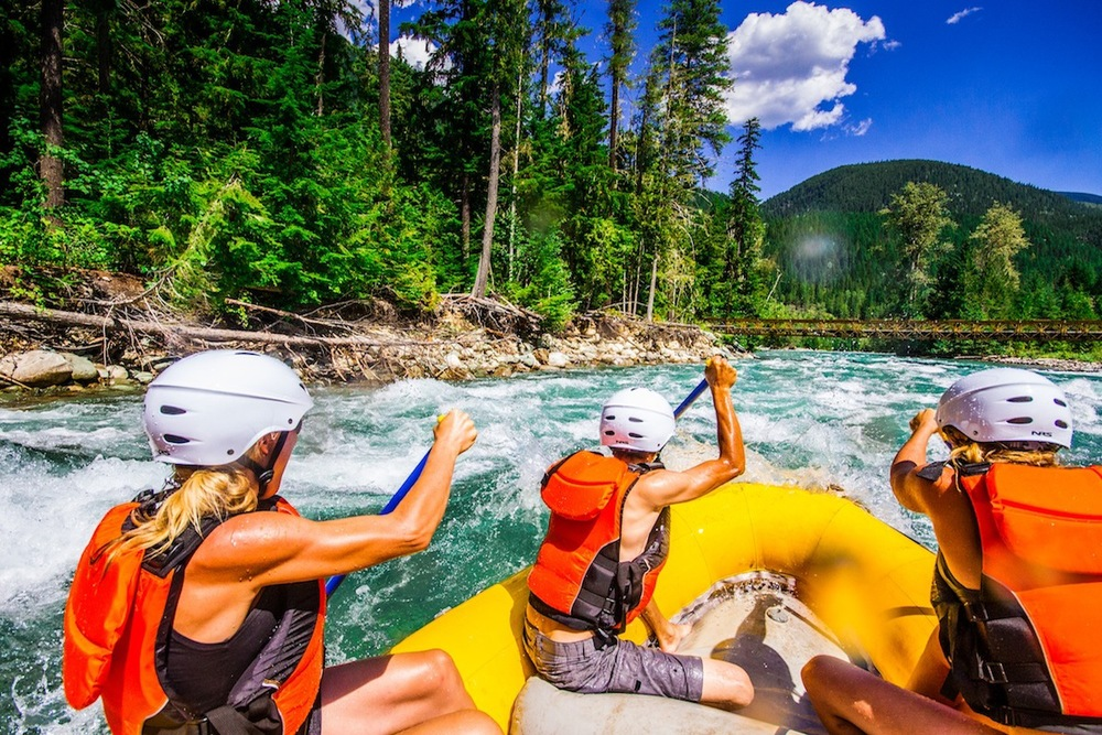 Whitewater Rafting Action 90 minutes from Nelson, BC!