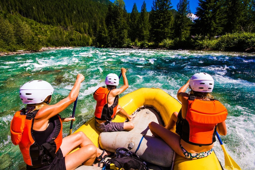 Kaslo Whitewater Rafting Adventure!