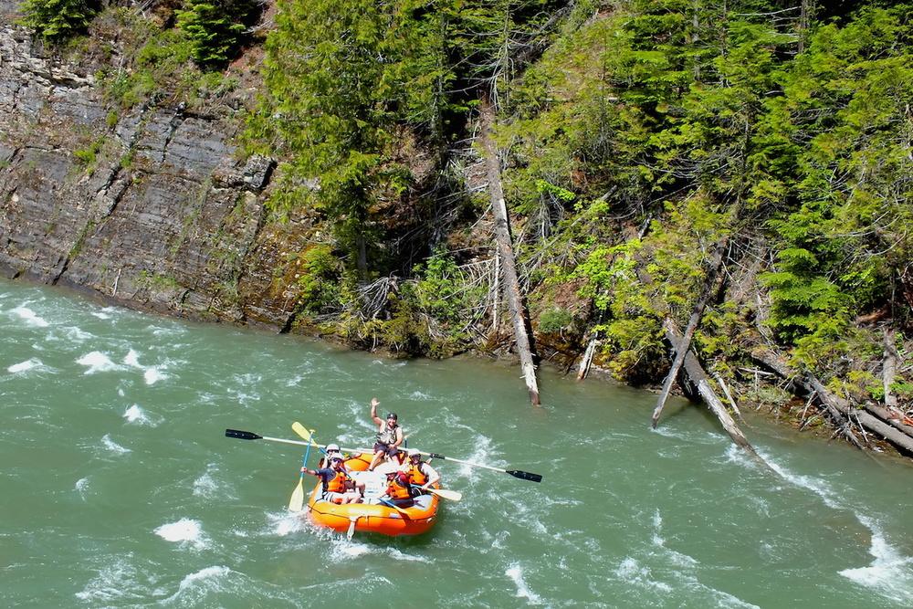 Summer River Rafting BC!-www.LardeauRiverAdventures.com