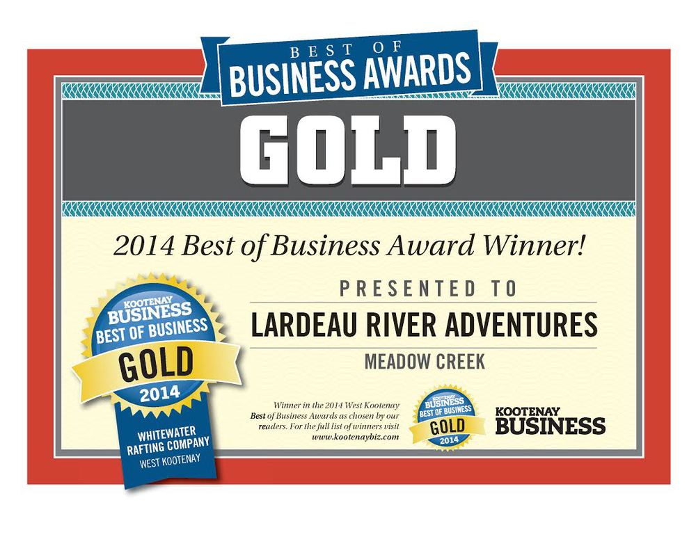 Kootenay Business Gold Awards 2014