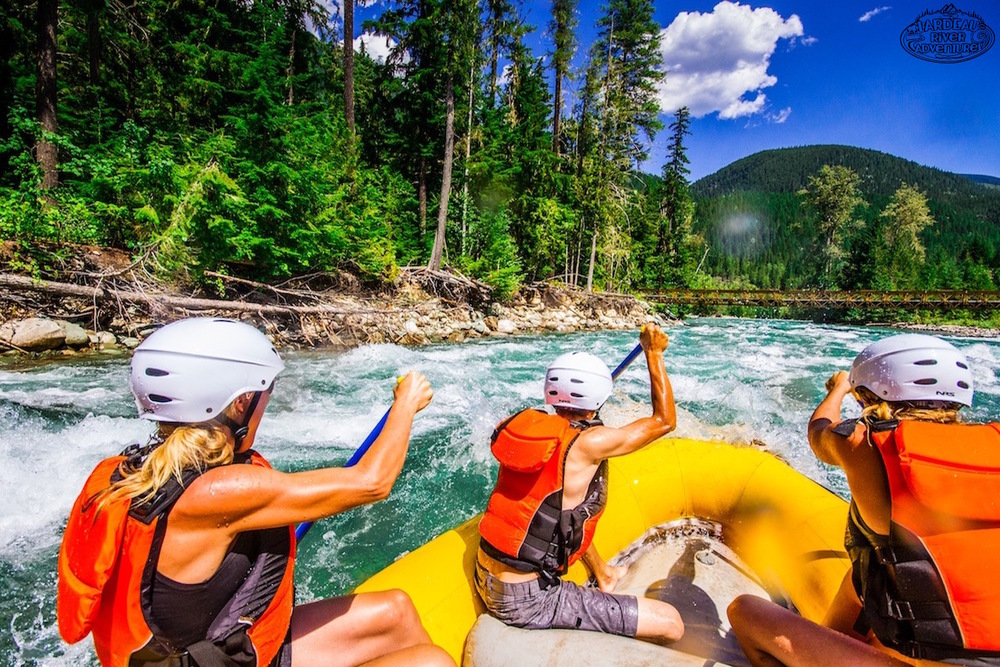 Whitewater Raft the West Kootenays of British Columbia!