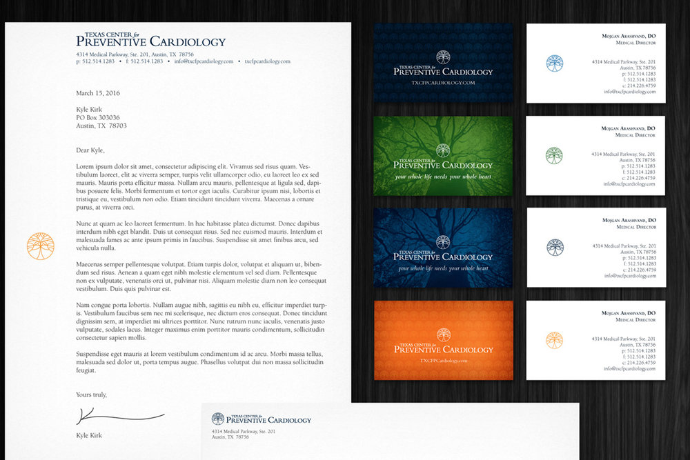 A cardiology clinic focused on prevention - Brand Identity • Healthcare