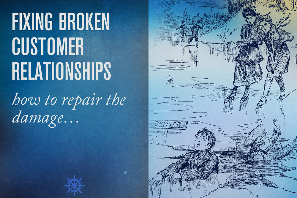 YOU'VE BLOWN IT — NOW WHAT? FIXing BROKEN RELATIONSHIPS - Captain's Log • 13 minute read