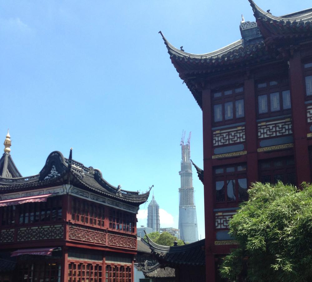 Yu Yuan Garden, Photograph by Leo Magrin