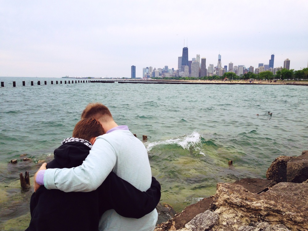 Bennett Love on Lake Michigan
