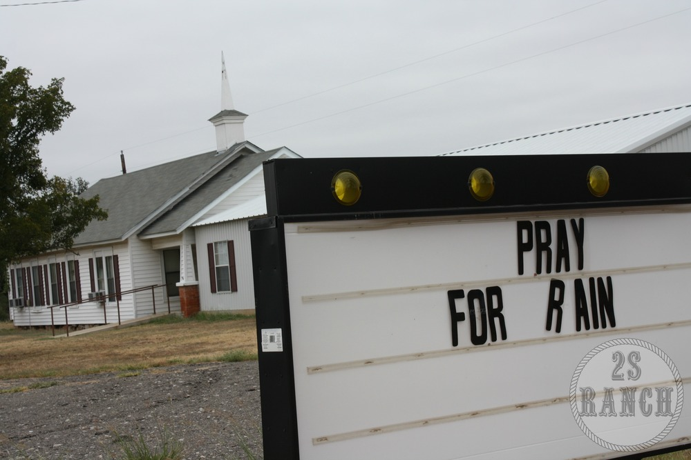 A local church calling for prayer.