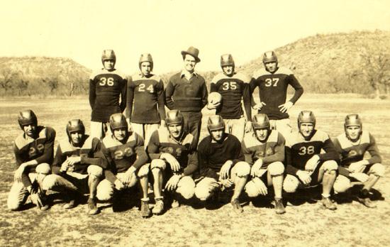 Gordon's Football Team- 1930's