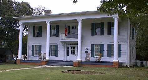 The Millermore Mansion at Heritage Village in Dallas, TX.