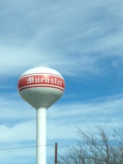 When was the last time you saw a water tower this pristine?  There is no graffiti in Muenster!