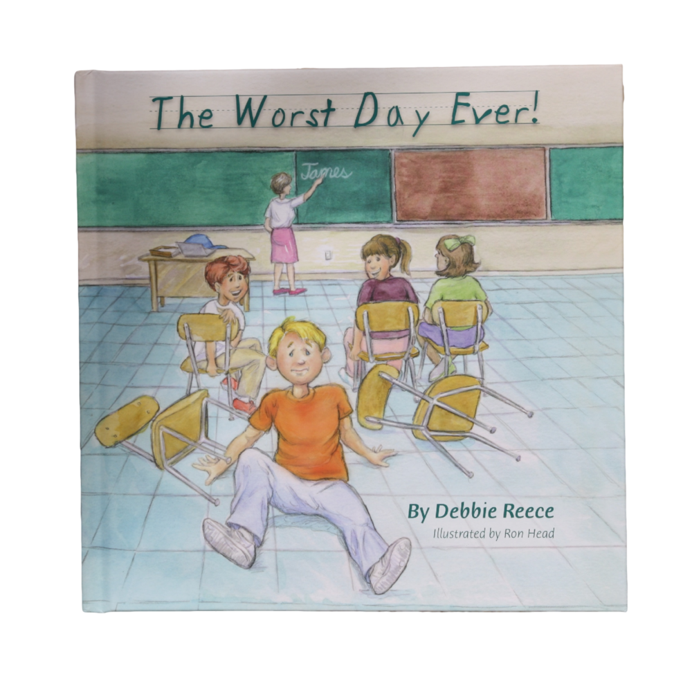 Native Texan, Debbie Reece, writes about her own son's experience. James loves going to school until one day he gets into trouble and has to miss recess. This story reminds children that it's okay to make mistakes and that the unconditional love of a parents is so significant in a young child's life.