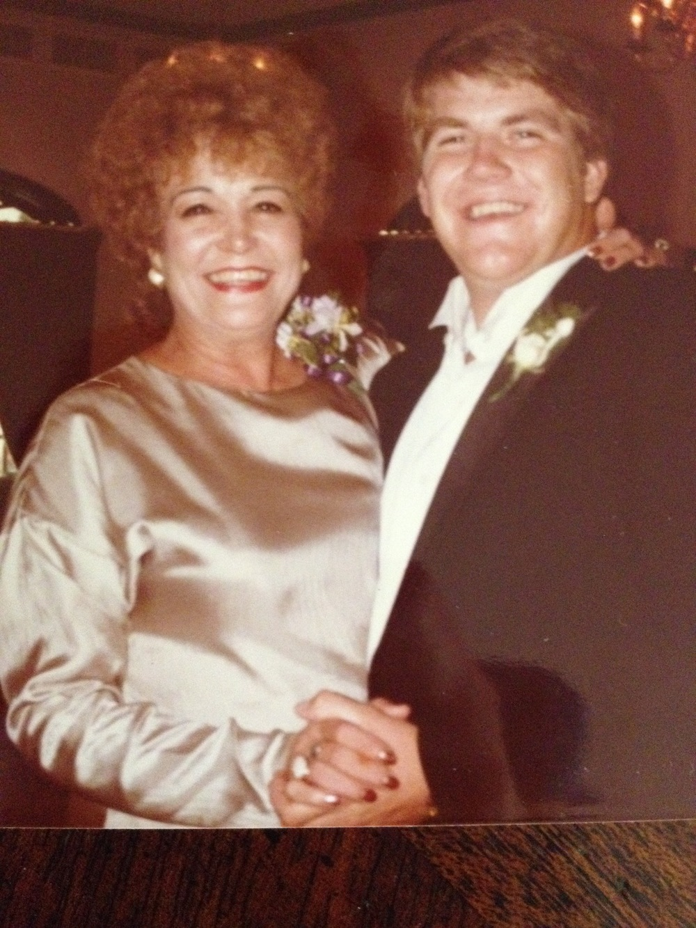 Eric & My Mom