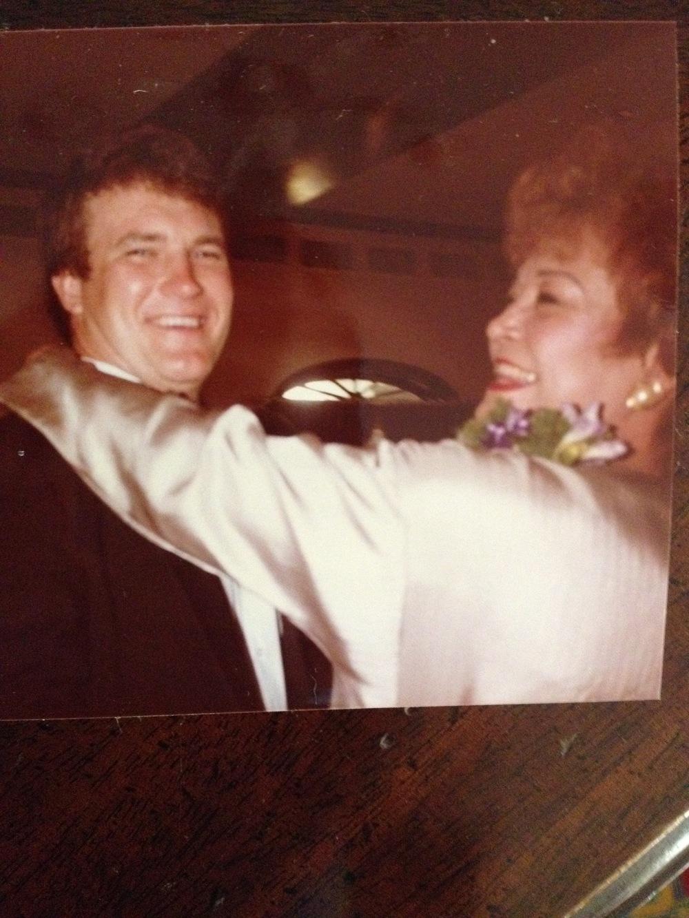 Blake & My Mom