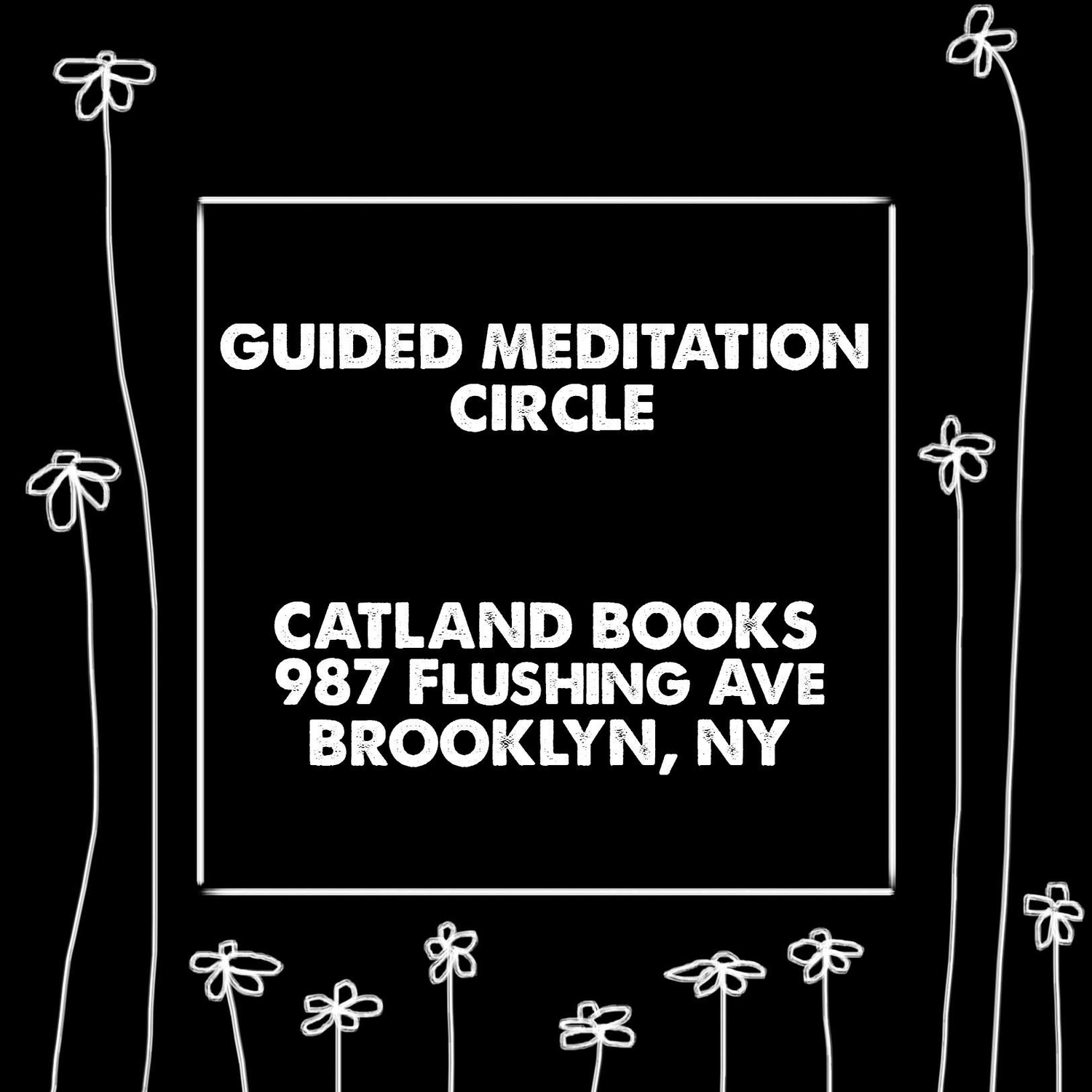 Guided Meditation Circle — Catland