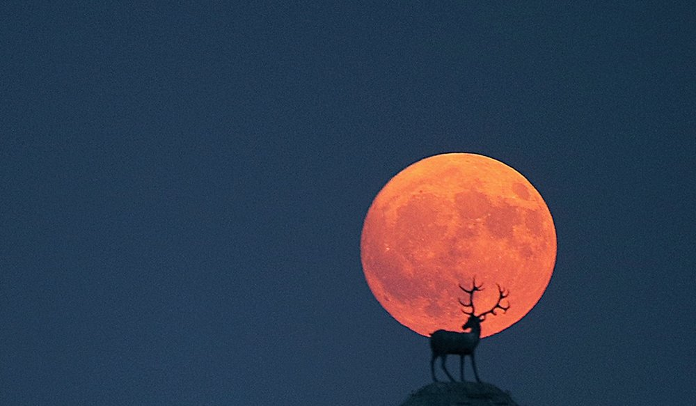 October's Hunter's Moon is set to create a brilliant, orange spectacle in the night sky.