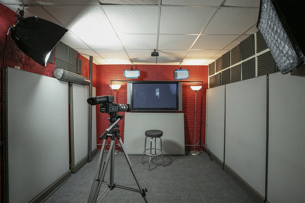 Production - We are a full service production company with a spacious studio with separate areas for filming. We provide single and multi-camera HD and 4K productions, with full lighting and audio packages for remote filming.