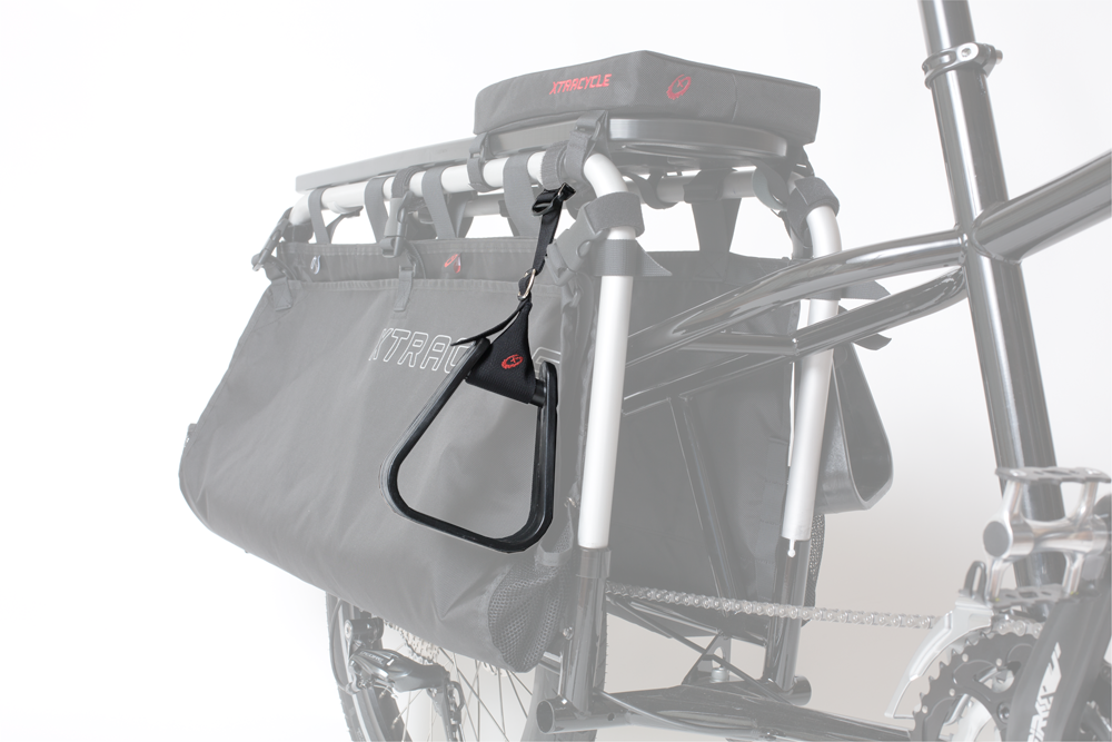 Stirrups afford foot support for passengers who can't quite reach the U-Tubes. Fully adjustable and easily removable, Stirrups are a great way to add required safety elements to your bike.