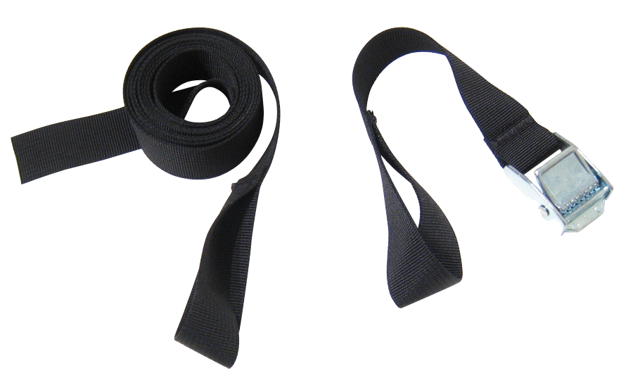 6 feet of strapping joy! Upgrade your bungees to real world retention with CinchStrap. Includes 2 pieces of strap that together form one 6' strapping length.