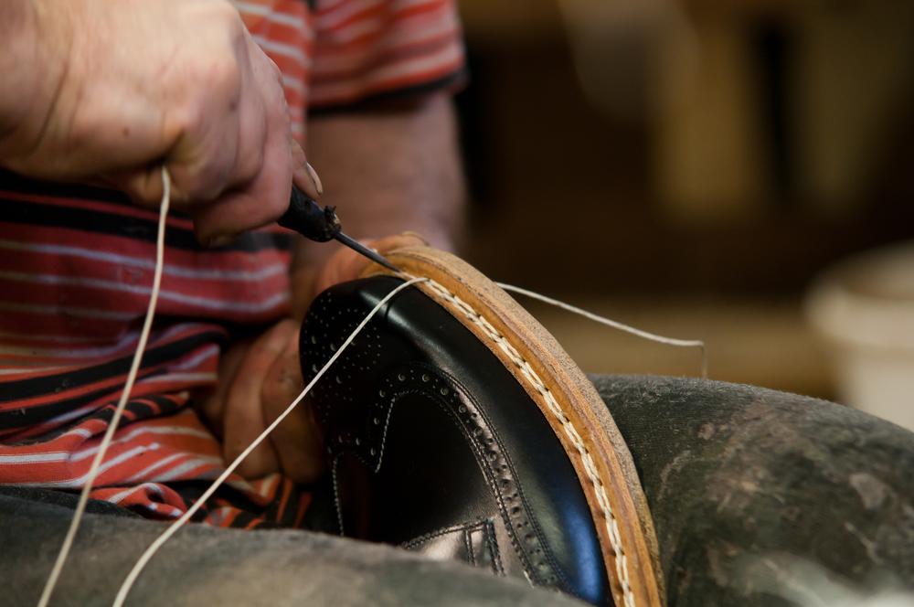 Vass shoe making process