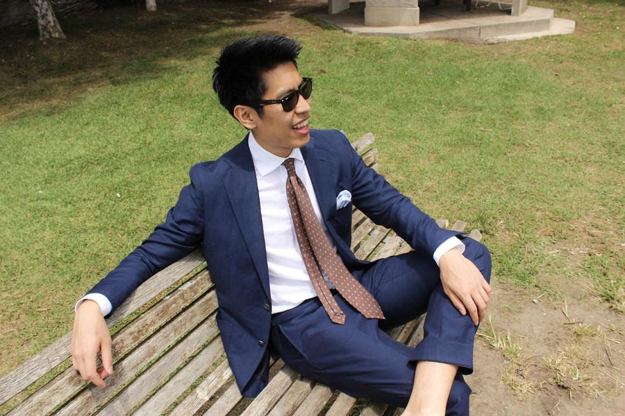 Suit by P Johnson Tailors