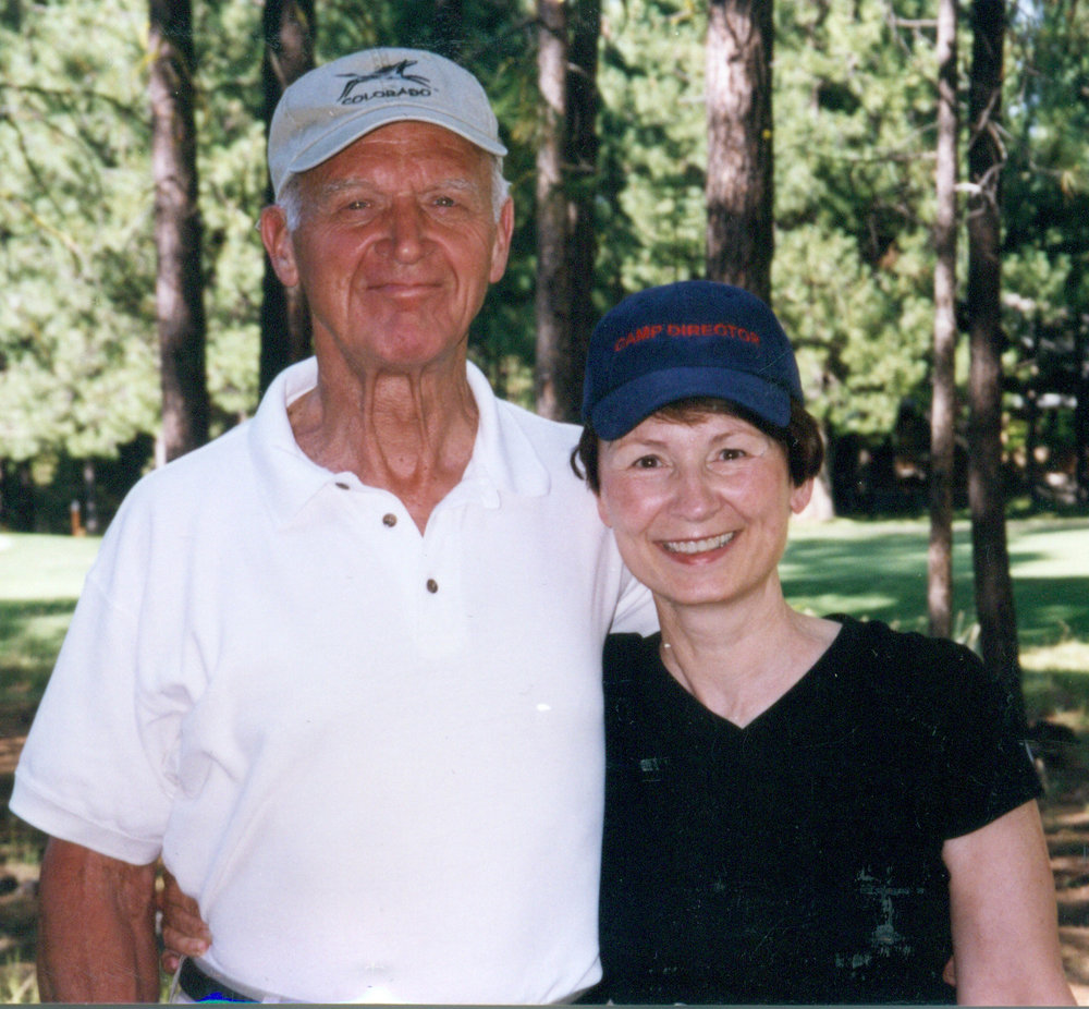 Golf was a favorite pastime for Max and Suzanne.