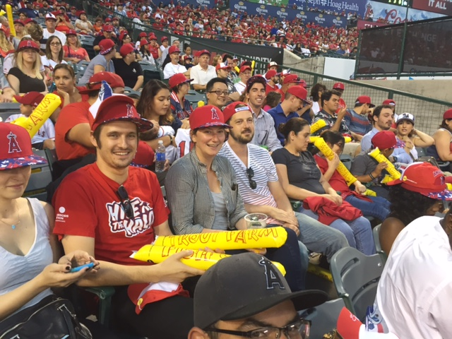 The RSG Team enjoyed watching our local Angels trounce the Minnesota Twins to keep the Houston Astros at arm's length in their division's second place.