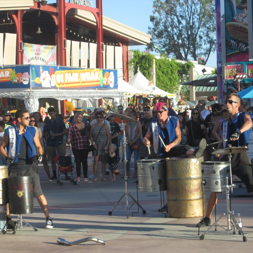 This group, the Street Drum Corp, was incredible!