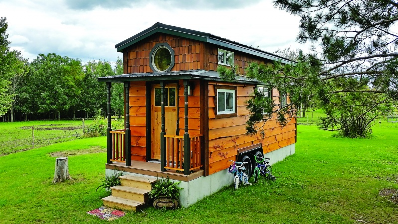 Photo courtesy of the FYI Channel's Tiny House Nation TV Show