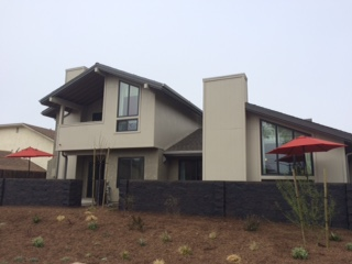 The redeveloped home in question. Looks pretty good!