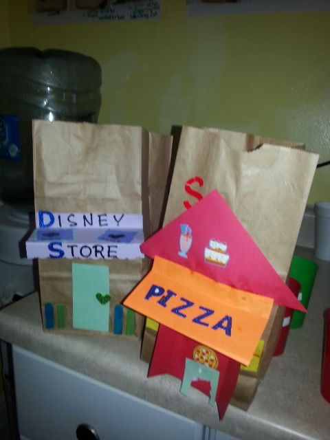 Who would want to live in a city without a Disney store and a pizzeria?