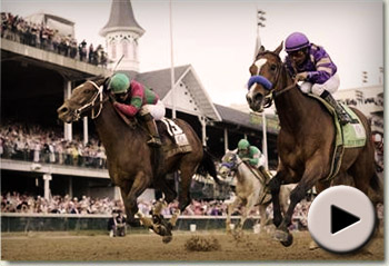 Plum Pretty wins the 137th Kentucky Oaks