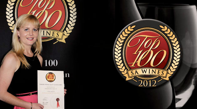 Top 100 SA Wines Awards - Hartford House Top Wine List
