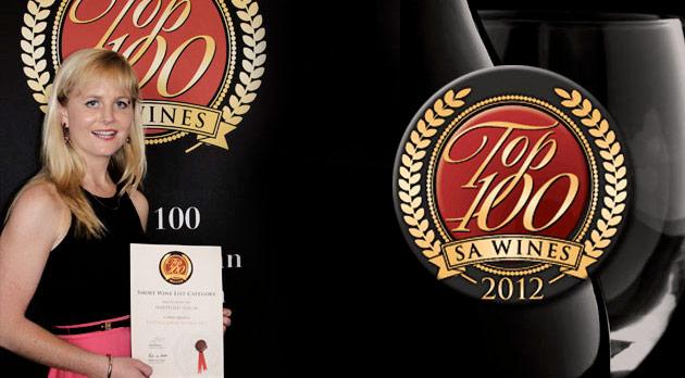 Top 100 SA Wines Awards - Hartford House Top Wine List