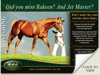 Rakeen, Jet Master, Ravishing