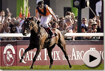 Danedream wins the Prix de l'Arc de Triomphe