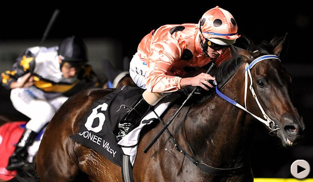 Black Caviar wins William Reid Stakes