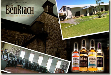 Benriach, Graceland Gallery and Al Maktoum School