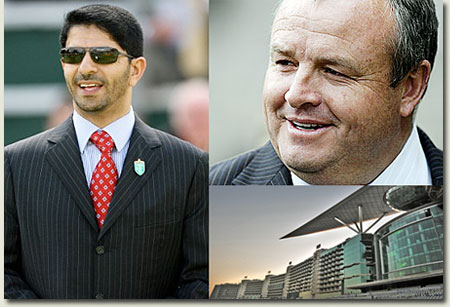 mike de kock and saeed bin suroor