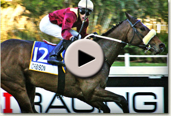 video of orbison winning the champions cup at clairwood racecourse