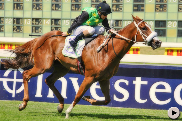Blueridge Mountain wins Klawervlei Majorca Stakes